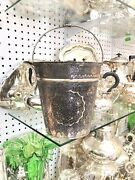 Antique Solid Silver Islamic Arabic Tuorkish Very Large Ice Bucket Drink Bottle