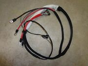 67 Mopar 426 Hemi B Body Concours Gtx Charger 4 Speed Postive Battery Cable