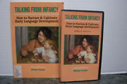 Book And Vhs, Talking From Infancy How To Nurture And Cultivate Early Lang. Dev., Nm