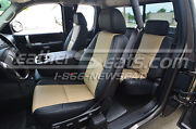 2007-2012 Chevy Silverado Sierra Extended Or Crew Cab Leather Seat Covers