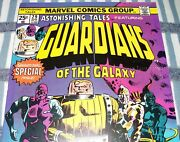 Astonishing Tales 29 Reprint 1st Guardians Of The Galaxy From Apr. 1975 Fine+