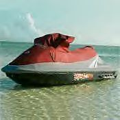 4sea Doo Gti 4 Tec Cover 2008 Red And Gray New With Dealer Logo Oem