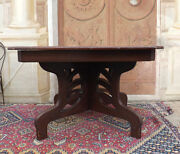 English Mahogany Table Age Around 1880 Ascribe To Edward And Roberts Game Table