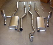 1970-1972 Oldsmobile Cutlass 442 Dual Exhaust System, 304 Stainless
