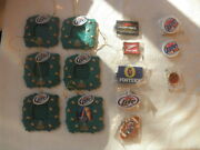 Mixed Beer Collectible Bottle Keyring+christmas Tree Frames Miller Lite