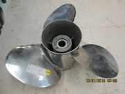 Prop New Solas For Honda 135-225 Stainless Steel 58133-zy3-b17ah 14 1/4x17 Left