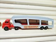Matchbox 1957 Accessory Pack A2a Red Cab +grey Trailer Bedford Car Transporter