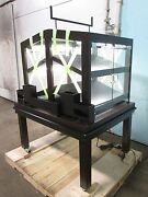 New Jsi H.d. Commercial Maple-stained-espresso Lighted Bakery Merchandiser