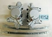 Reman Oem .. And03962 - And03980 Mgb Front Brake Calipers Set W/ Brake Pads And Hoses H052
