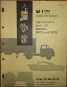 1968 Standard Blue Streak Ignition Parts Catalog Trucks Buses Taxis