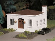 Bachmann 45609 O Scale Plasticville Police Station New In Original Box