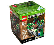 Lego Cuusoo New Sealed Set 21102 Rare Minecraft Sold Out Micro World Micromobs