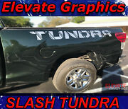 2007-2021 Toyota Tundra Slash Graphic For Rocker Or Back Bed Side Decal Stripe