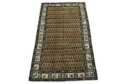 7x12 Antique Paisley Design Agra Rug Hand-knotted Gallery Runner Circa 1900