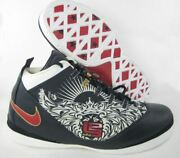 Nike Lebron Air Zoom Soldier 2 Pe Basketball Sz 16 Sample Olympic Player Edition