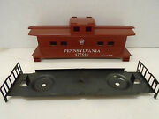 Custom Painted American Flyer S Gauge Pennsylvania Railroad Caboose Body/chassis