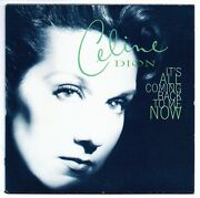 Celine Dion It's All Coming Back To Me Now Austria Spanish Cd Single Card Sleeve