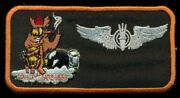 Usaf Special Weapons Pilot Nametag Wing Patch J-4