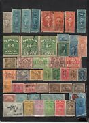 U.s.a.- Lot Of 800 Revenue And Postage Due Early Used - Unused Stampsurp1