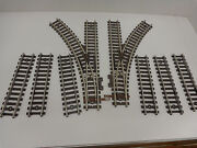 5 Pair Original American Flyer S Gauge Pike Master Tracks And Switches
