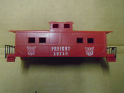Original American Flyer S Scale Game Train Caboose Body And Chassis Mint