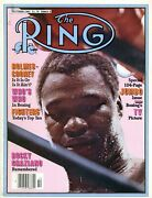 Larry Holmes/gerry Cooney Ring Boxing Magazine October 1981 Rocky Graziano