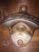 Vintage Drink Coca-cola Starr X Wall Mounted Bottle Opener Dates 1929-1943