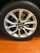 Bmw Oem Factory Original Style 450 X5 And X6 19 Wheel/tire/tpms And Center Caps