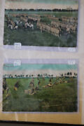 Us Post Cards 50x + Old Time Full Color War Scenes + Over 50x