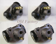 Citroen 3cv Front And Rear Brake Cylinders Set 4 Pieces New Recently Made