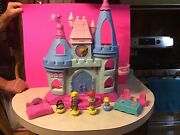 Fisher Price Little People Disney Princess Songs Palace W/acc.