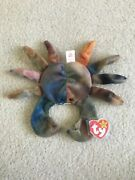Ty Beanie Baby Claude The Crab - Rare Retired 1996 -pe Pellet - Free Shipping