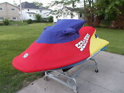 Sea Doo Gsx Gs Gsi Cover Red Blue And Yellow With Dealer Logo New In Box Oem