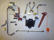 70-74 Mopar B E Body Cuda Charger 340 Six Pack Installation Kit W/throttle Cable