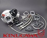 Kinugawa Billet Turbocharger 2.4 Td05h-16g And Blow Off Valve And 8cm T3 Housing