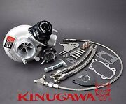 Kinugawa Billet Turbocharger 2.4 Td06sl2-20g And Blow Off Valve And 8cm T25 Housing