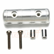 Tamiya Aluminum Center Air Tank Set Silver For 114 Tractor Truck Rc Cars 56552