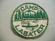 Bsa / Old Hickory Council Camp Lasater Patch -- Vintage 1950and039s