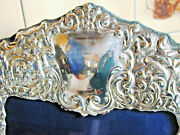 Large Sterling Silver Picture Photo Frame Rococo Style Design 1995 6 1/2 X 11