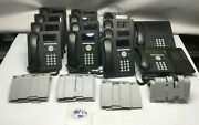 Mix Lot 15 Avaya 9620c 9670g 9611g 9608 Bm12 Voip Phone W/ Handset And Stand