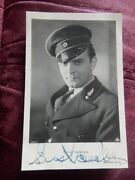 Ernst Verebes - Hungarian Actor - Autographed Postcard Photo