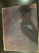 Antique Iliffand039s Imperial Atlas Of The World Book Really Old Maps And Info 1891