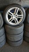 Porsche Oem Factory Genuine 19 Panamera Turbo Wheel/tire/tpms And Center Cap Set