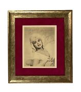 Jayne Mansfield And Mickey Hargitay Dual Autographed Signed 8x10 Picture Framed