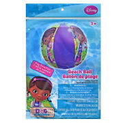 6 Disney Doc Mcstuffins Kids Inflatable 20 Beach Ball Toy Pool Party Favors New
