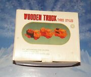 Wooden Learning Toy Trucks For Todlers 4 And Under Educational Toys
