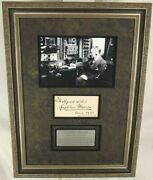 Guglielmo Marconi Italian Inventor And Engineer And039and039radioand039and039 Autograph Display