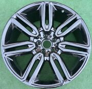 Oem Factory Bentley Continental 21 Inch Black 7 Twin Spoke Wheel Flying Spur