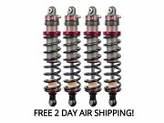 Elka Stage 2 Front And Rear Shocks Suspension Kit Polaris Rzr S 900/1000