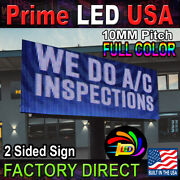 Led Sign Full Color P10mm Outdoor/indoor 12.5h X113.25l Wifi Cellphone App